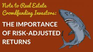 The importance of risk-adjusted returns