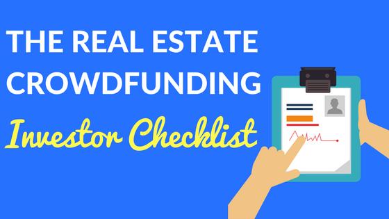 Real Estate Crowdfunding Investor Checklist